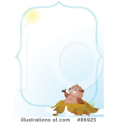 Groundhog Clipart #86925 by Pushkin