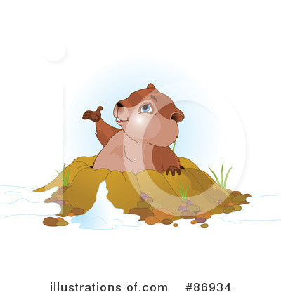 Groundhog Clipart #86934 by Pushkin