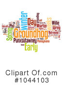 Royalty-Free (RF) Groundhog Day Clipart Illustration #1044103