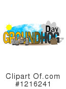 Groundhog Day Clipart #1216241 by djart