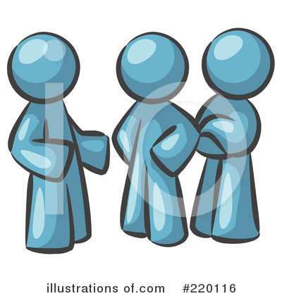 Colleagues Clipart #220116 by Leo Blanchette