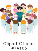 Royalty-Free (RF) group Clipart Illustration #74105