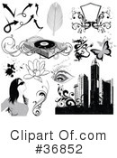 Royalty-Free (RF) Grunge Clipart Illustration #36852