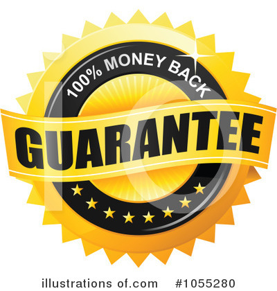 Royalty-Free (RF) Guarantee Clipart Illustration by TA Images - Stock Sample #1055280