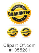 Royalty-Free (RF) Guarantee Clipart Illustration #1055281