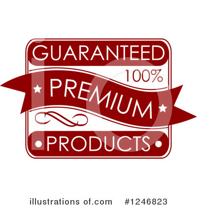Royalty-Free (RF) Guarantee Clipart Illustration by Vector Tradition SM - Stock Sample #1246823