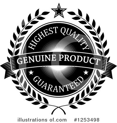 Royalty-Free (RF) Guarantee Clipart Illustration by Vector Tradition SM - Stock Sample #1253498