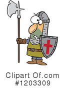 Guard Clipart #1203309 by toonaday