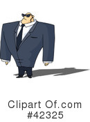 Royalty-Free (RF) Guard Clipart Illustration #42325