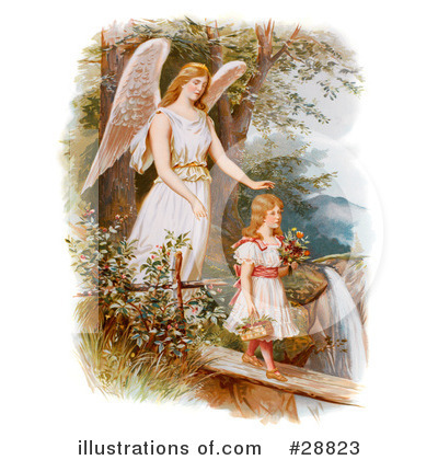Guardian Angel Clipart #28823 by OldPixels