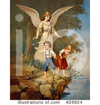 Guardian Angel Clipart #28824 by OldPixels