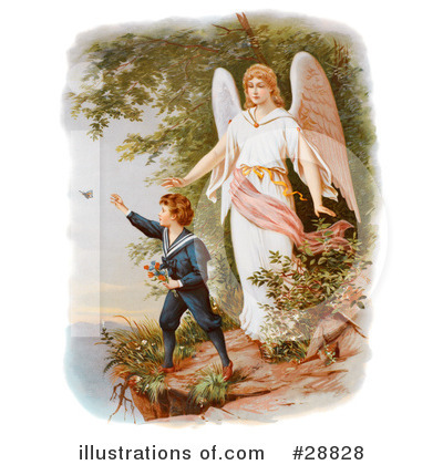 Guardian Angel Clipart #28828 by OldPixels