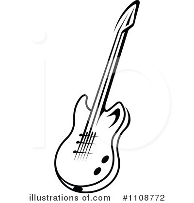 Royalty free rf guitar clipart illustration by seamartini graphics
