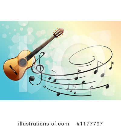 Guitar Clipart #1177797 by Graphics RF