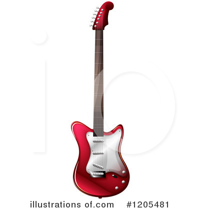 Guitar Clipart #1205481 by Graphics RF