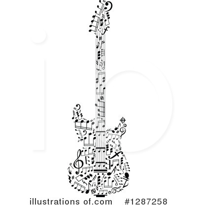 Music Clipart #1287258 by Vector Tradition SM