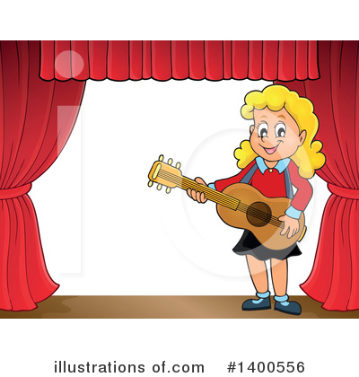 Guitarist Clipart #1400556 by visekart