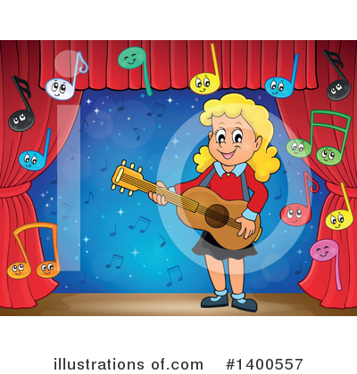 Guitarist Clipart #1400557 by visekart