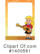 Royalty-Free (RF) Guitar Clipart Illustration #1400561