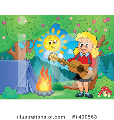 Guitarist Clipart #1400563 by visekart