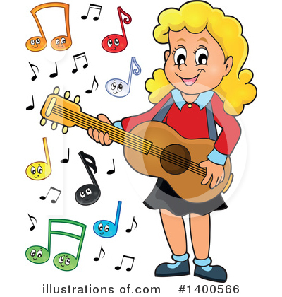 Guitarist Clipart #1400566 by visekart