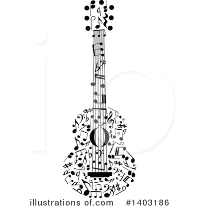 Music Clipart #1403186 by Vector Tradition SM