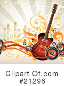Guitar Clipart #21296 by OnFocusMedia