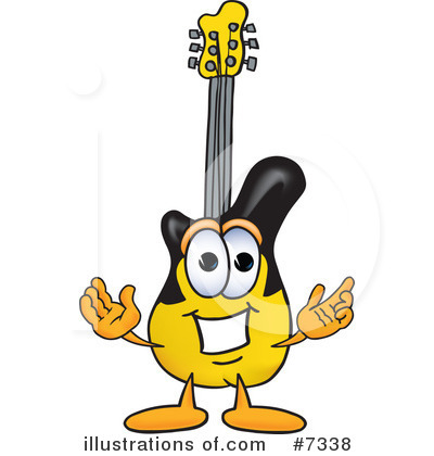 Guitarist Clipart #7338 by Toons4Biz