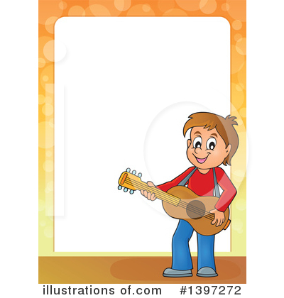 Guitar Clipart #1397272 by visekart