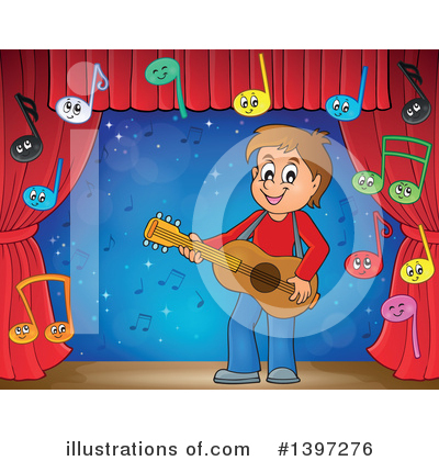 Guitarist Clipart #1397276 by visekart
