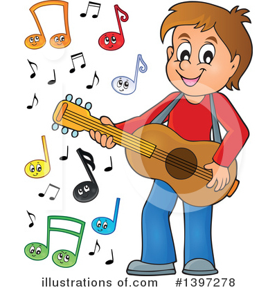 Guitarist Clipart #1397278 by visekart