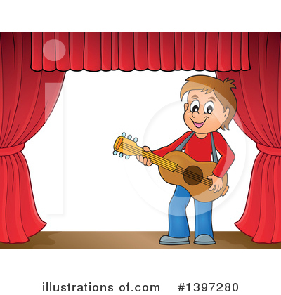 Guitarist Clipart #1397280 by visekart