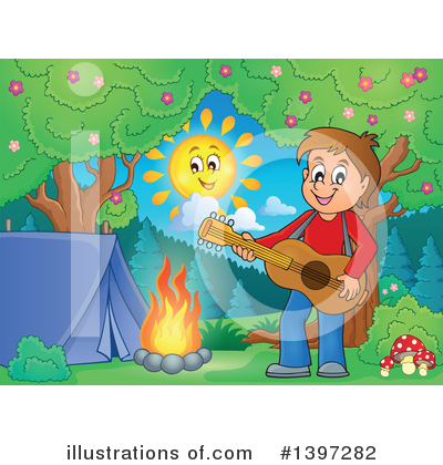 Guitarist Clipart #1397282 by visekart