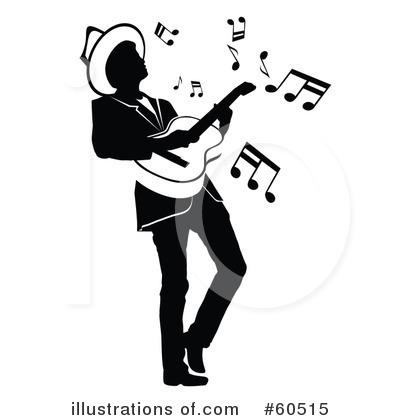 More Clip Art Illustrations of Guitarist