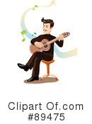 Guitarist Clipart #89475 by mayawizard101