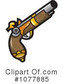 Royalty-Free (RF) gun Clipart Illustration #1077885