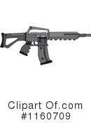 Royalty-Free (RF) Gun Clipart Illustration #1160709