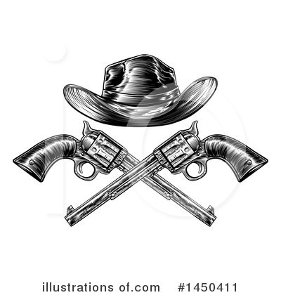 Cowboy Clipart #1450411 by AtStockIllustration