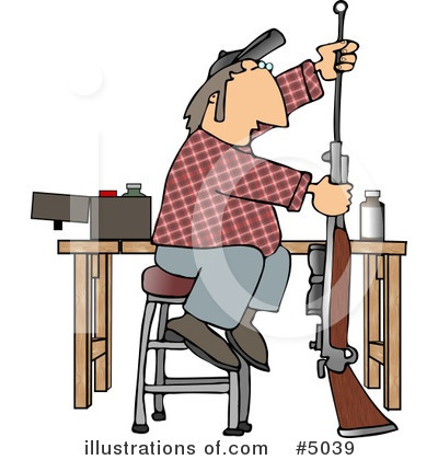 Guns Clipart #5039 by djart