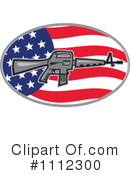Royalty-Free (RF) guns Clipart Illustration #1112300