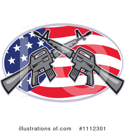 Guns Clipart #1112301 by patrimonio