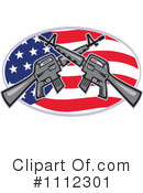 Royalty-Free (RF) Guns Clipart Illustration #1112301