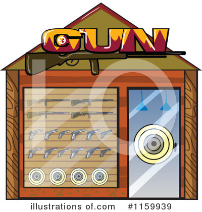 Guns Clipart #1159939 by Graphics RF