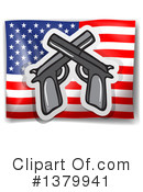 Guns Clipart #1379941 by Graphics RF