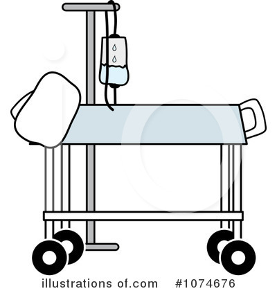 Gurney Clipart #1074676 - Illustration by Pams Clipart