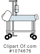 Gurney Clipart #1074676 by Pams Clipart