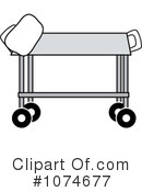 Gurney Clipart #1074677 by Pams Clipart