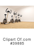 Gym Clipart #39885 by Frank Boston