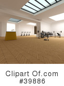 Gym Clipart #39886 by Frank Boston