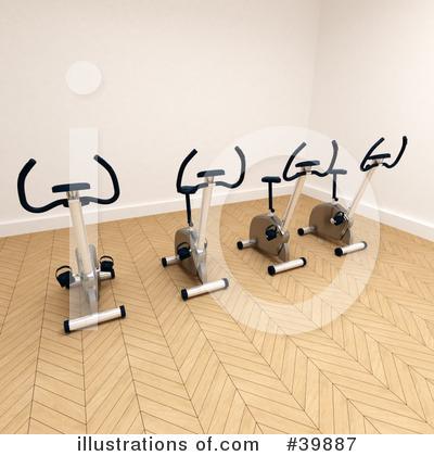 Gym clipart illustration by frank boston